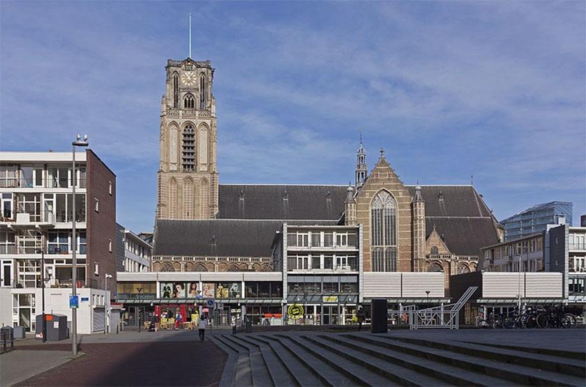 Rotterdam de Sint Laurenskerk