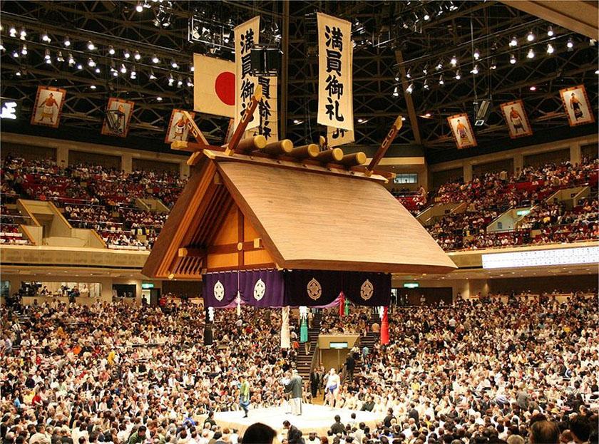 Tokyo Sumo Ryoguku Kokugikan