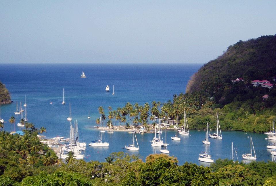 St Lucia Island Marigot Bay