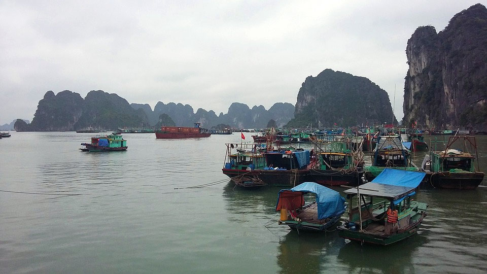 Halong Bay Floating Cities