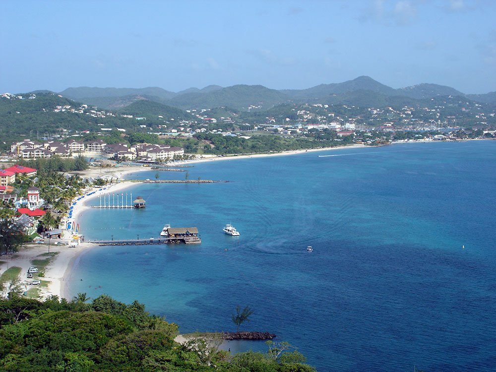 St Lucia Gros Islet