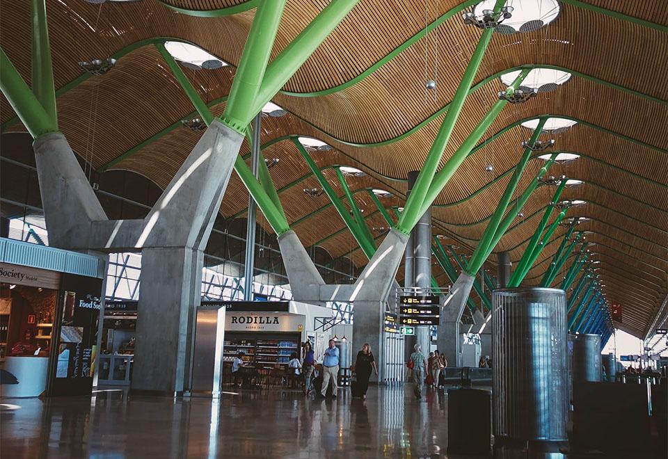 pain Madrid Airport