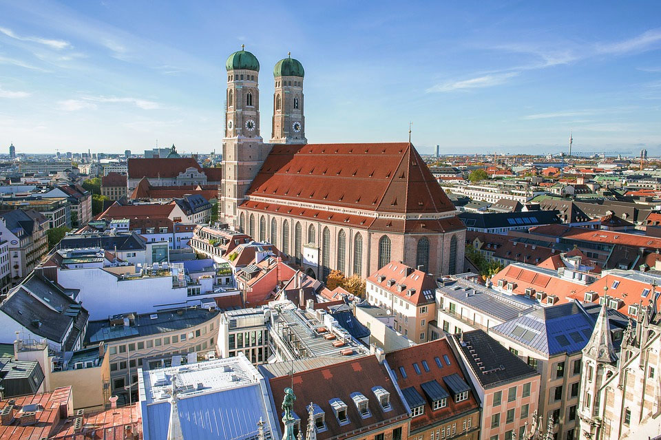 Germany Munich Frauenkirche Bavaria