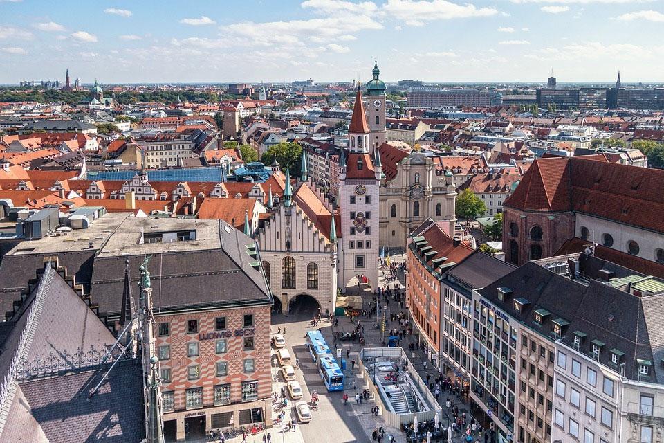 Germany Munich Marienplatz
