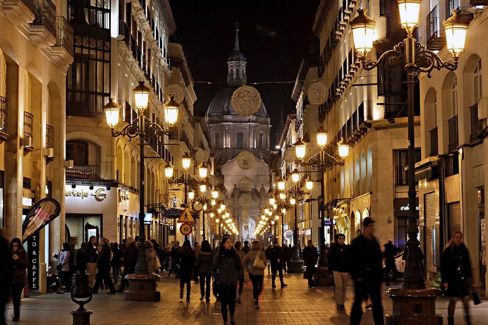 Spain Night People
