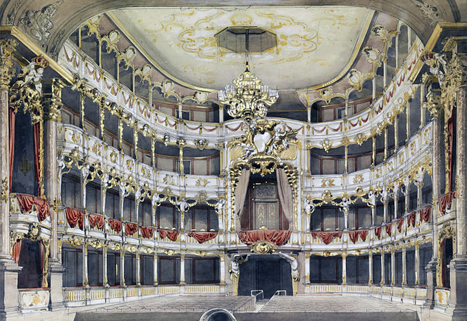 Germany Munchen Residenz Theater
