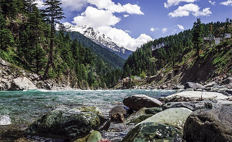 Pakistan Swat River Valley