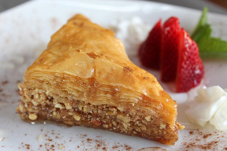 Greek Baklava Pastry Desert