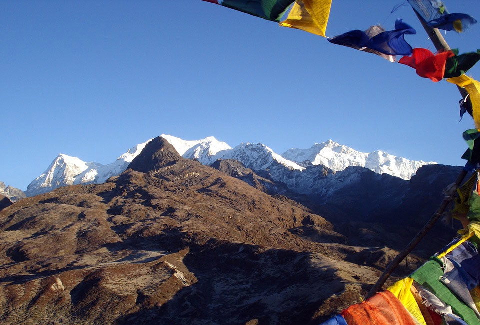 Sikkim Mountains in India