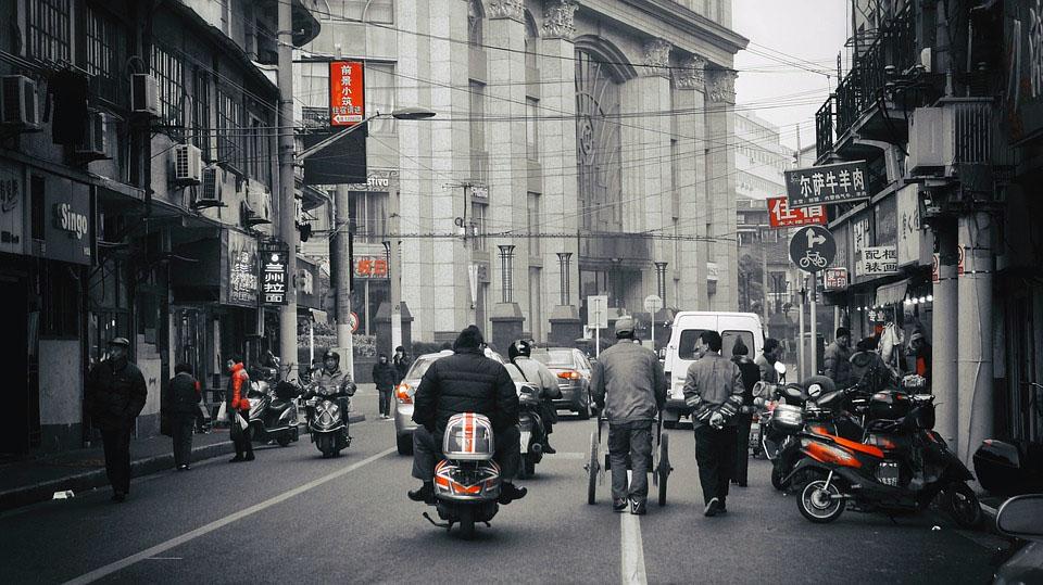 Shanghai China Streets