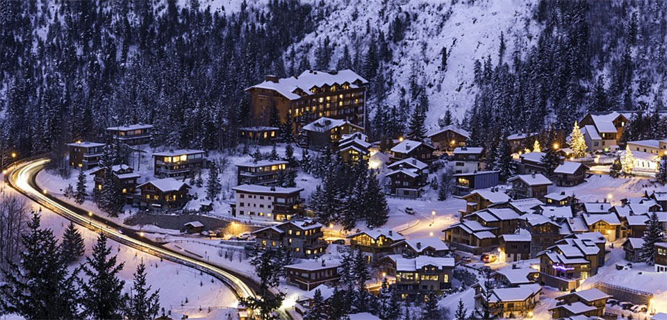 France Courchevel Mountain
