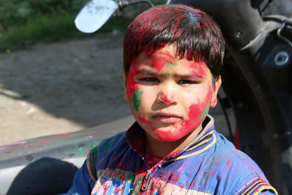 India Punjab Holi Festival