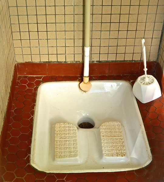 China Squat Toilet