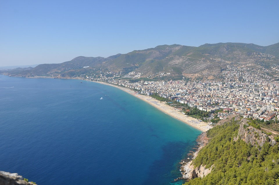 Turkey Alanya Cleopatra Beach