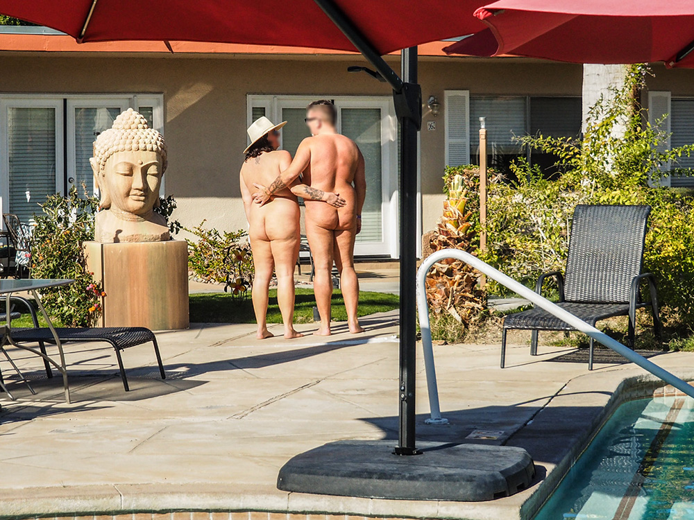 Tuscany Manor Palm Springs Naturist Hotel Guests