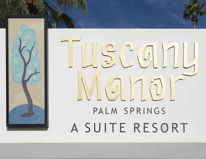 Tuscany Manor Palm Springs