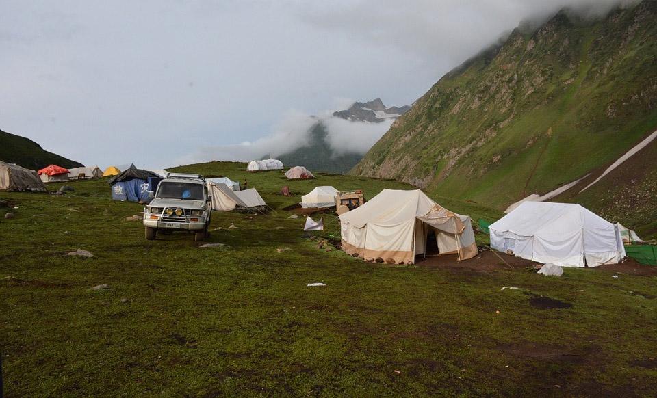 Kashmir Ratti Gali Camping