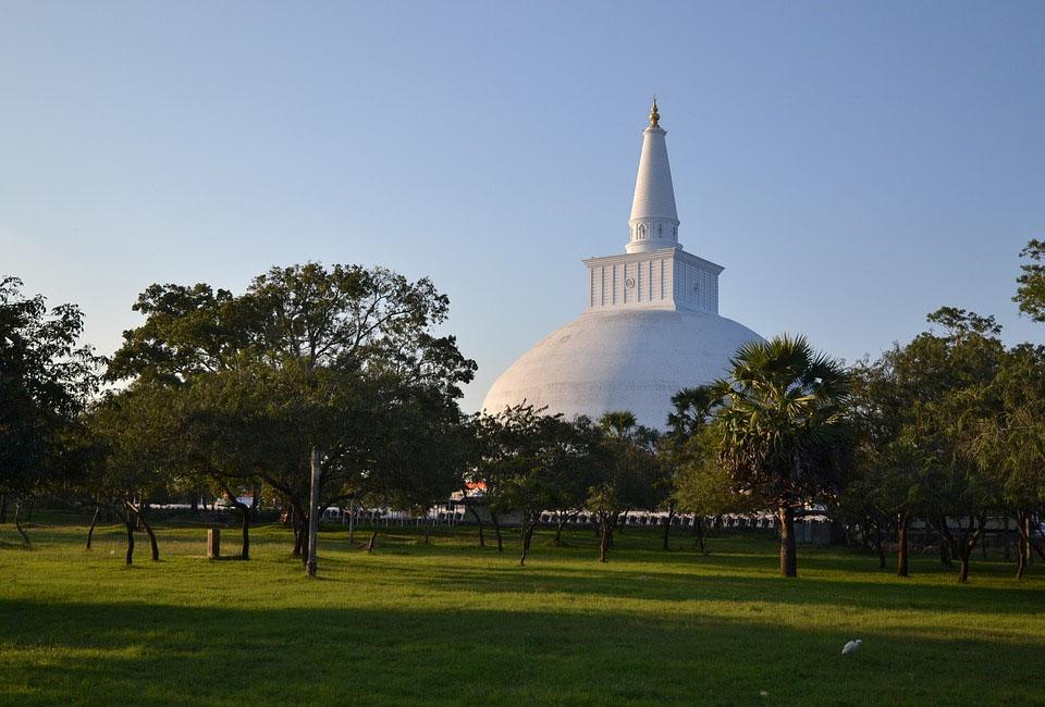 Sri Lanka Anuradhapura Temple