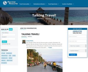 Talking Travel Community Social Network