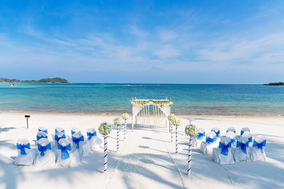 Destination Island Wedding