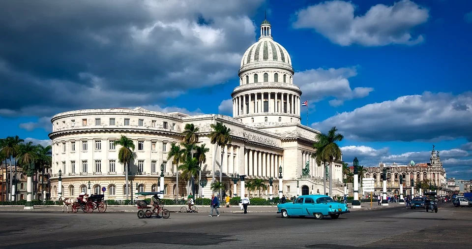 Cuba Capitol Building Havana