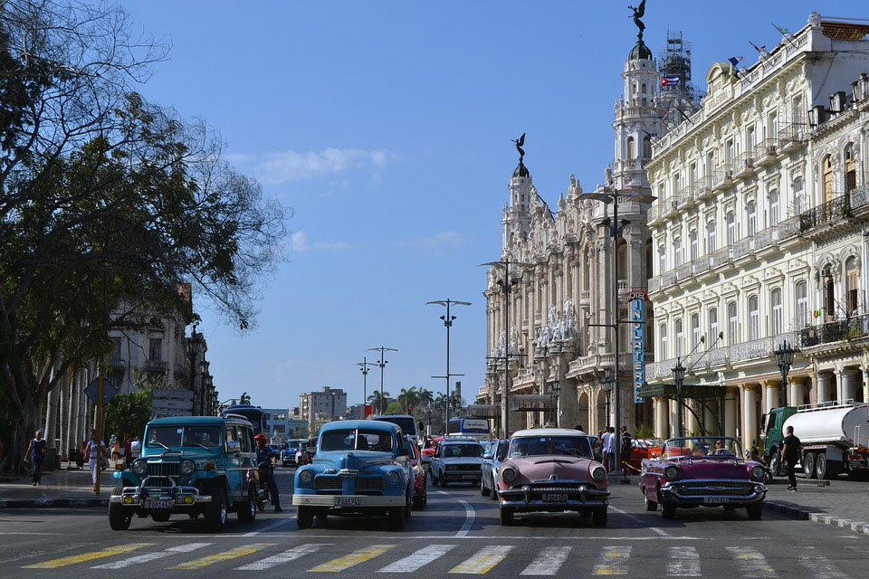 Cuba Havana Chevy Classic Cars