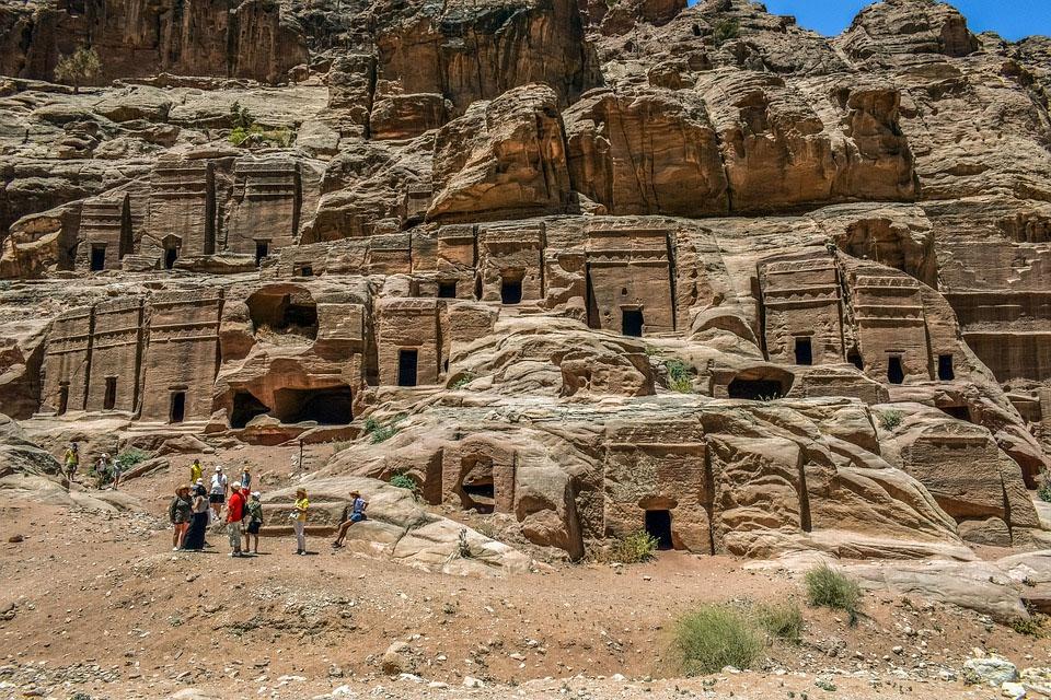 Ancient City of Petra in Jordan