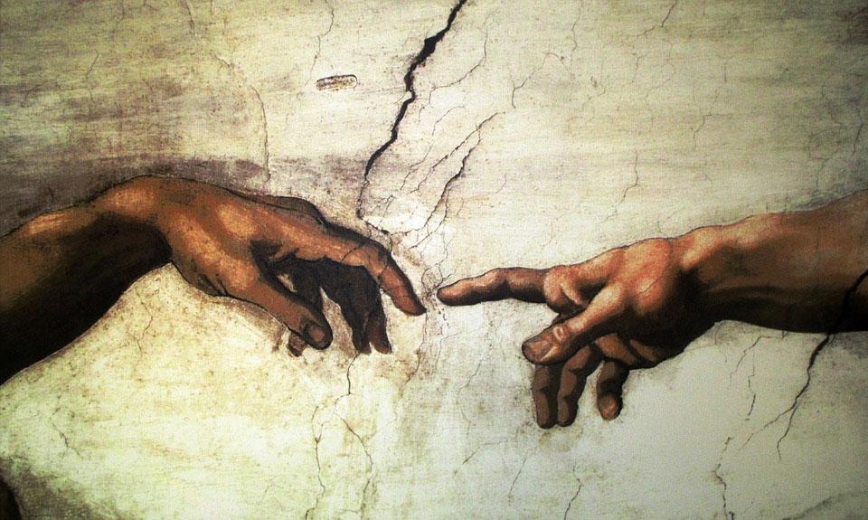 Michelangelo Creazione di Adamo