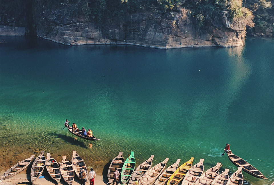 Dawki Lake India