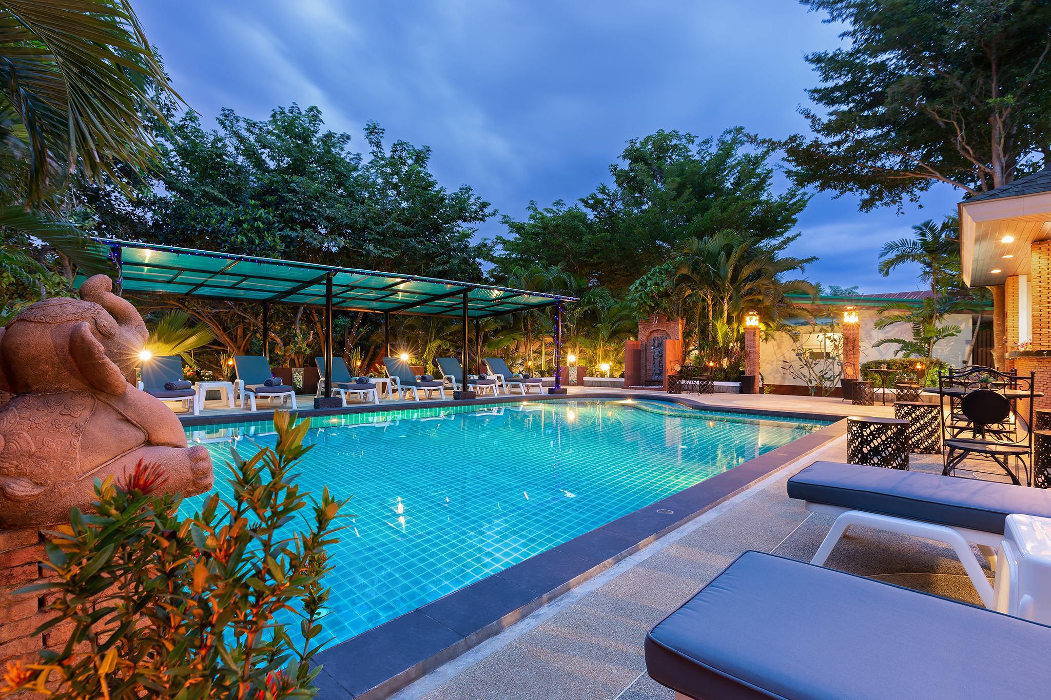 Harmony Naturist Resort Pool