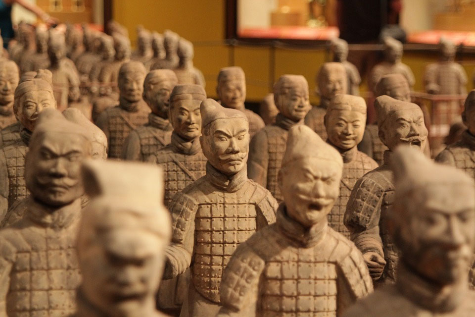 Terracotta Warriors Facial Expressions