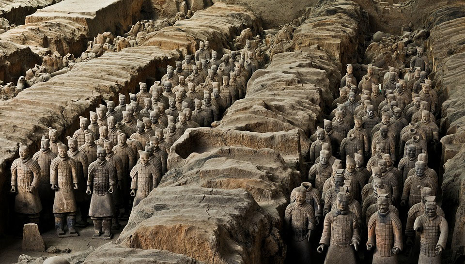 China Terracotta Warriors Xi An