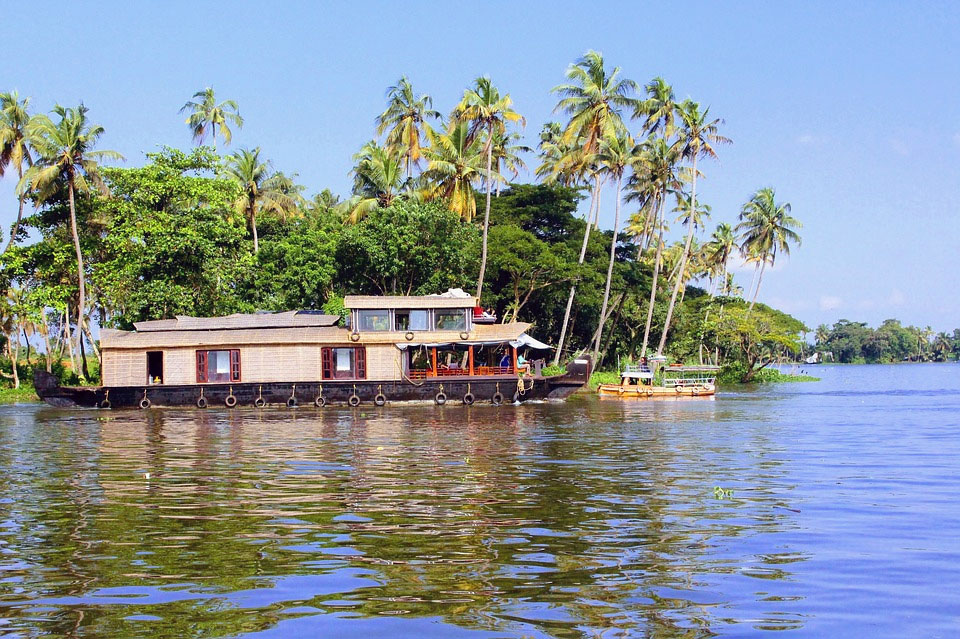 Alleppey Houseboat in India