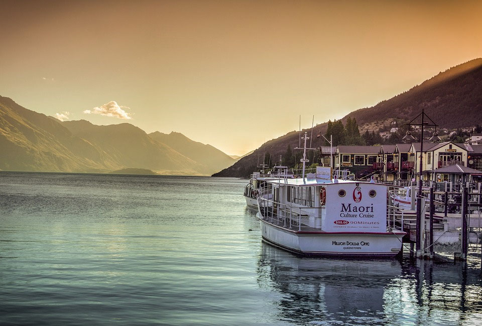 Queenstown Harbor New Zealand