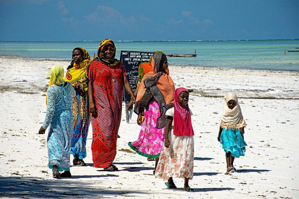 Tanzania Zanzibar Beach