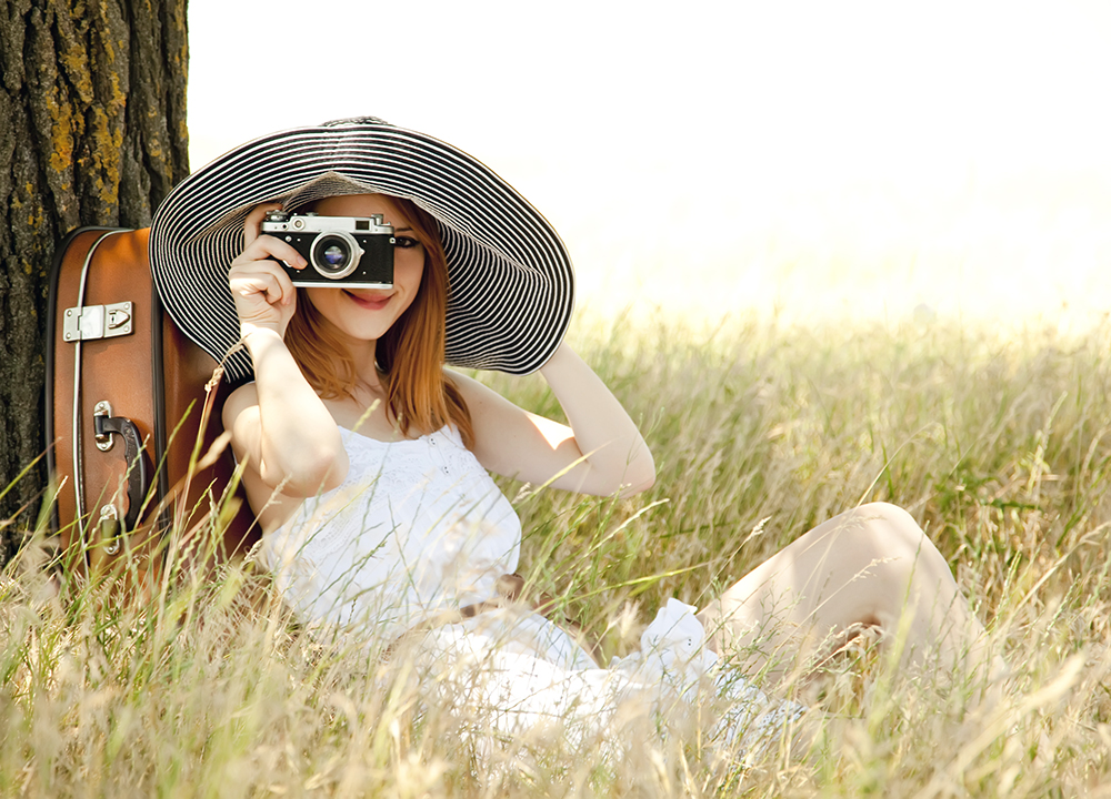 Redhead Travel Photographer