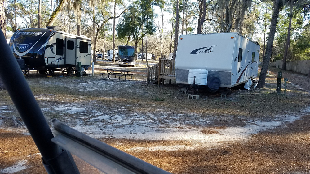 Suwannee Valley Nudist RV Camping