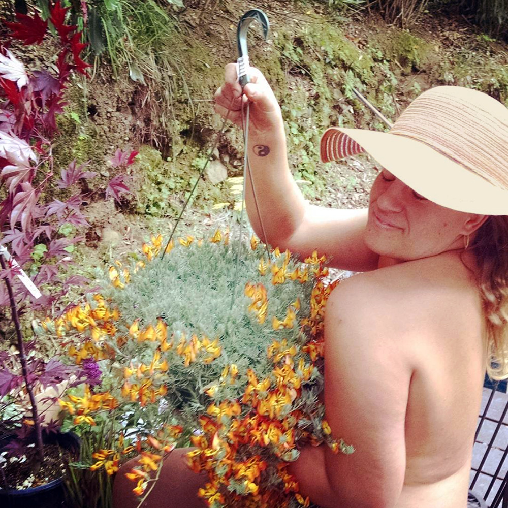 Celebrate World Naked Gardening Day