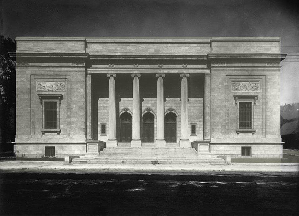 Historic Museum of Fine Art Montreal Canada