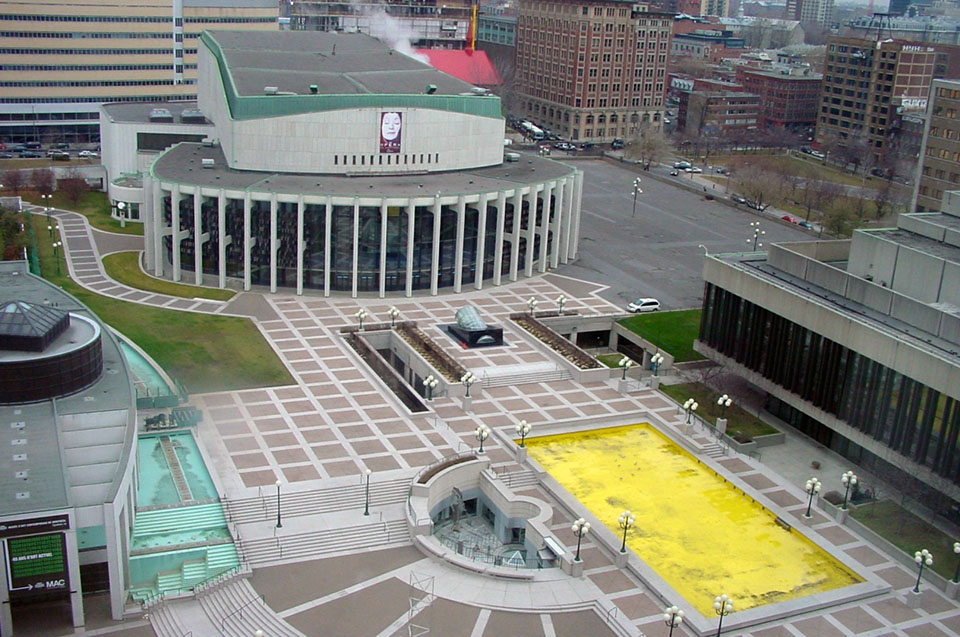 Place des Arts Montreal Canada