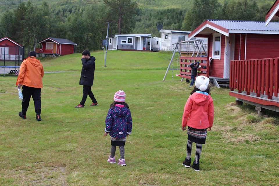 Brustranda Camping in Valberg Norway