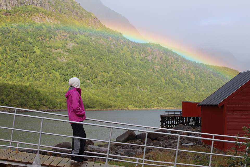 Camping Raften in Tengelfjord Norway