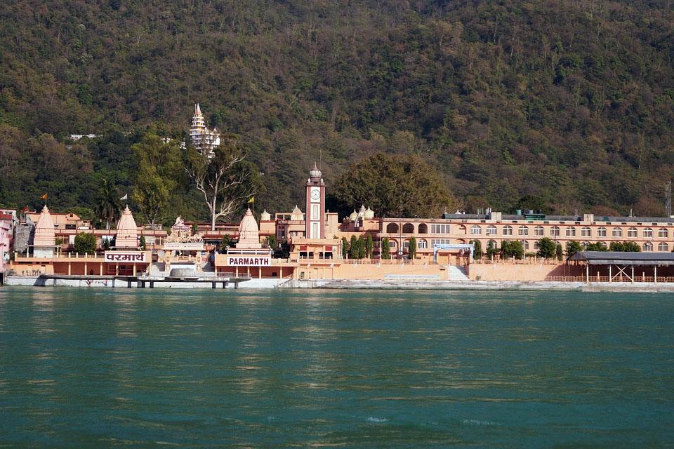 India Rishikesh Hindu Temple